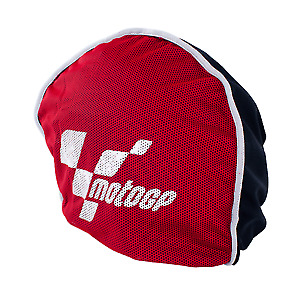 MotoGP Official Product Motorcycle Helmet Protector Drawstring Bag Black & Red
