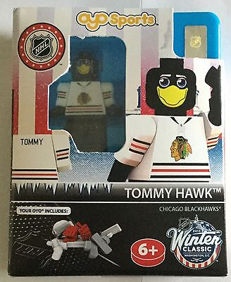 Chicago Blackhawks Tommy Hawk Mascot NHL OYO Brick Toy Action Figure