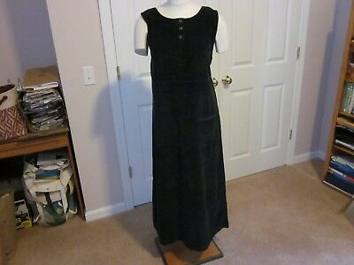 Talbots Amish Style Ankle Length Cotton Corduroy Jumpers/Overalls. NWT.
