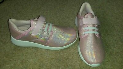 Pink trainers size 1