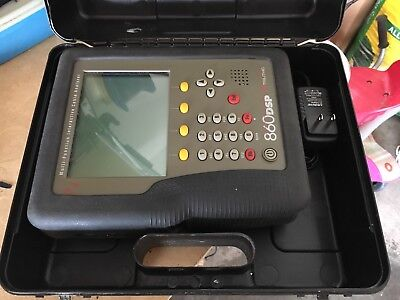 Trilithic 860 Dspi Cable Meter / DOCSIS 3.0 / Includes hard case & A/C power cab