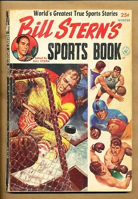 Bill Sterns Sports Book - Winter 1952 - Approved Comics Inc Harlem Globetrotters