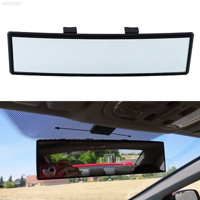 4FD4 240mm Car Care Truck Rearview Convex Face Wide Rear View Mirror Clip On