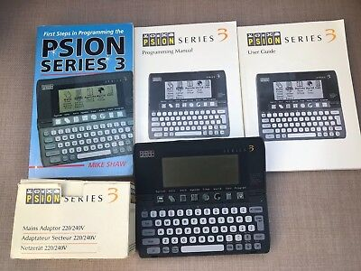 Psion Series 3 Palm top PDA computer