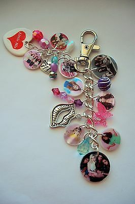 NEW LITTLE MIX new PHOTO HANDBAG CHARM PURSE, SCHOOL BAG KEYRING