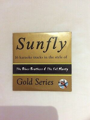 Sunfly Karaoke The Blues Brothers & The Full Monty Gold Series GD-031 new