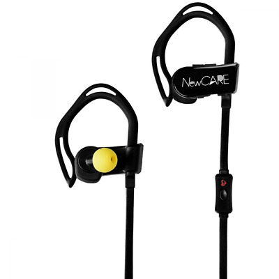 Bluetooth 4.0 Sport Headphones Wireless Earbuds with Heart Rate Monitor