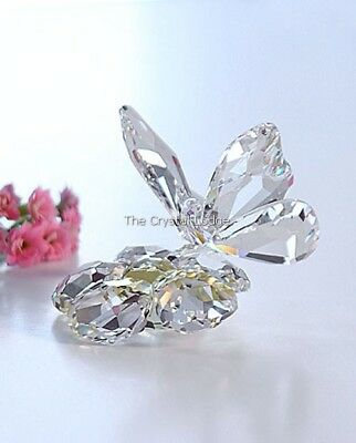Swarovski Crystal Butterfly On Flower 840190 Mint Boxed Retired Rare