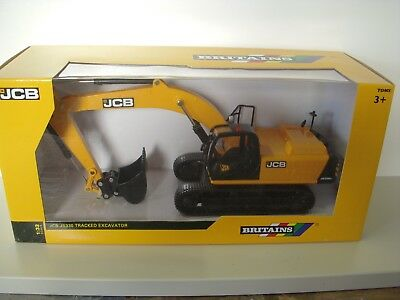 1/32 metal and plastic JCB tracked excavator JS330 by Britains  MINT - Boxed