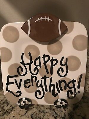 Euc Happy Everything Mini Attachment Football