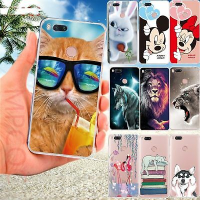 For Xiaomi Redmi 6 Note 4/Redmi 4 Prime Silicone Cartoon Back Phone Cover Case