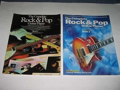 The Complete Rock & Pop Guitar Player Book 1 & 2