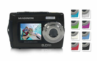 "Maginon Digitalkamera Fun 8.0 Megapixel, 2,7"", 4x Digitale Zoom Schwarz"