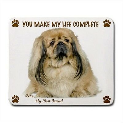 New Design Cute Adorable PEKINGESE Dog Puppy Rubber Computer MOUSE PAD Mat