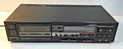 RARE, VINTAGE Pioneer CT-1160R Cassette Deck TESTED AND WORKING GREAT!