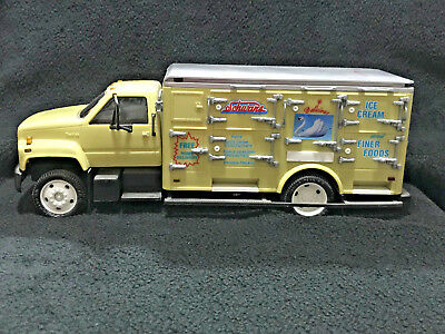Schwan's Delivery Truck Bank Employees Edition GMC Top Kick Plastic