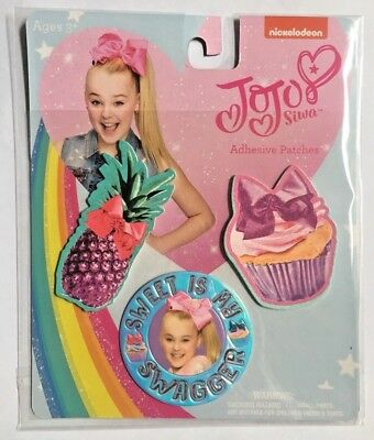 JoJo Siwa Adhesive Patches Sweet Is My Swagger Birthday Party Favor