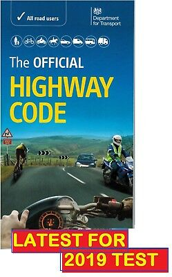 OFFICIAL HIGHWAY CODE BOOK DVSA LATEST EDITION 2018 18 DVLA L UK THEORY TEST Hw