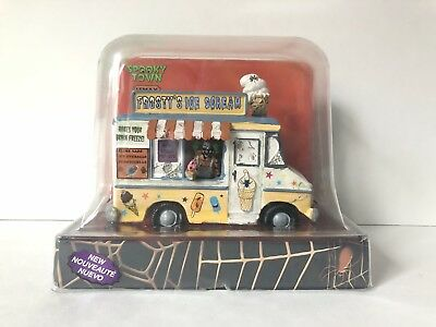 Lemax Halloween Spooky Town Frosty's Ice Scream #23943 Retired product NIB/