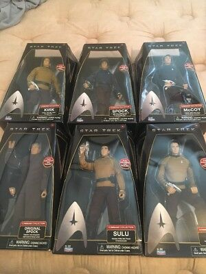 """Star Trek Playmates Action Figures 2009 12"""" command collection"""