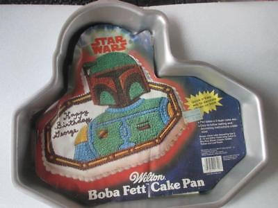 Wilton 1983 Star Wars Boba Fett 502-1852 New With Instructions