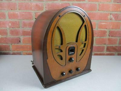 Philco Tube Radio Model 66 Vintage 1935 Very Nice Works
