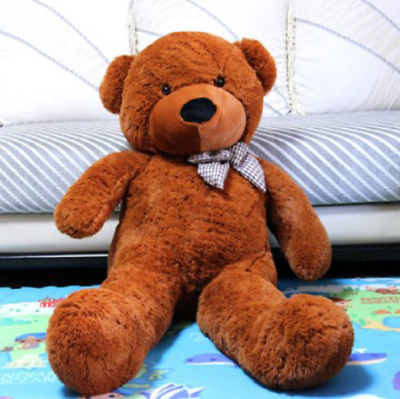 Giant Teddy Bear Plush Stuffed Huge Animal Toy Kids Birthday Valentine Gift 47""