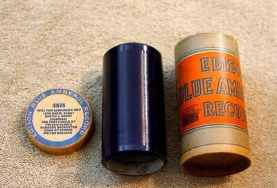 Edison Blue Amberol Cylinder Record #4974 Polla's Clover Gardens Orch - Nice One