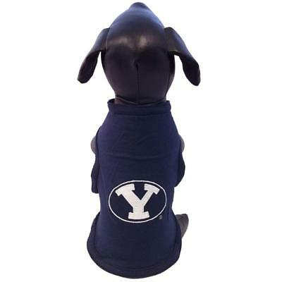 "Brigham Young University Cougars Dog Shirt - 17-20"" Length - Collegiate - NWT"