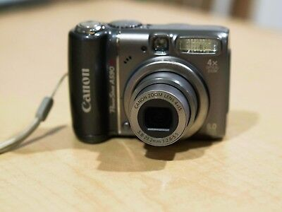 Canon PowerShot A590 IS 8.0MP + 8GB SD card