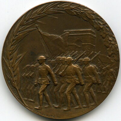 1919 The Saviours of the Liberty of the World French US WWI Victory Medal HK-903