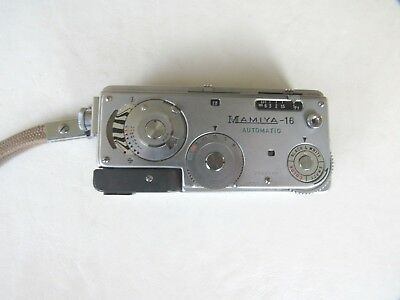 Vintage Mamiya 16 Automatic Subminiature Spy Camera in Case