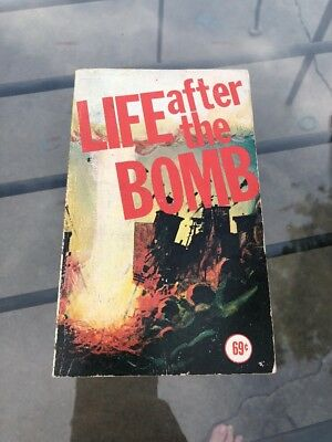 Life After The Bomb Hi Brow Books Vintage Blank Inside 69pnb 4996