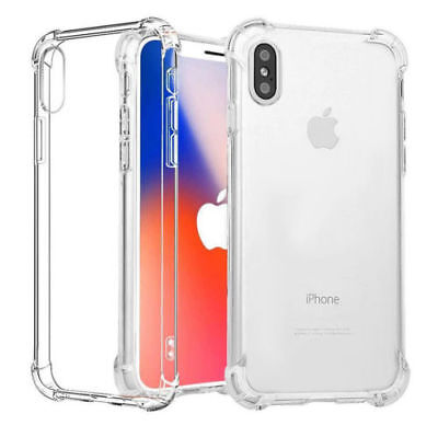 ULTRA HYBRID Shockproof Air Bumper Clear Hard Case Cover iPhone 6,7,8,X S7,S8