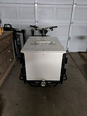 Icicle Tricycle Ice Cream Bike Black (never been used) Cargo Bicycle
