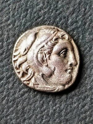 ALEXANDER III the GREAT 250BC Ancient Silver Greek Tetradrachm Coin