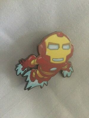 SDCC 2018 Iron Man Skottie Young Exclusive Marvel Mystery Pin Collection
