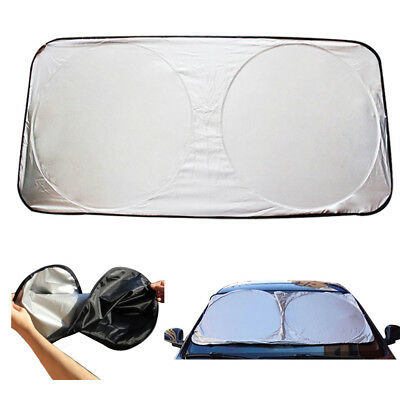 Foldable Car Windshield Visor Cover Front Rear Block Window Sun Shade Universal