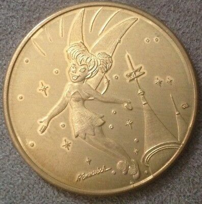 Disney TINKER BELL Character of Month DISNEYLAND 45th Minted COIN LE