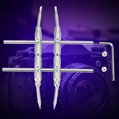 Spanner Wrench Repair Opening Open Tool Stainless Steel for DSLR Camera Lens BY