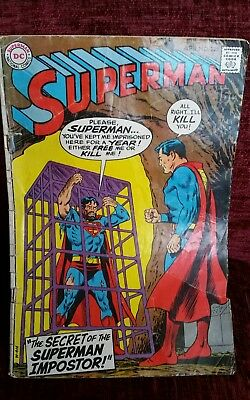 Superman Comic Apr 1970 No. 225 Dc Comics. Complete.