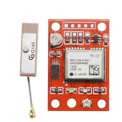NEO-6M GPS Module Board With Antenna Replaces Parts Acc For Arduino Raspberry Pi