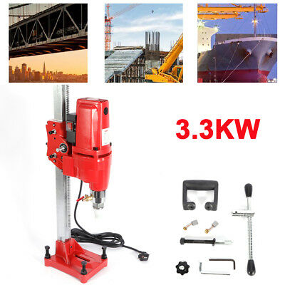 Wet Core Drilling rig machine Ø 165mm 3300W Stand Core Press Drill Machine 220V
