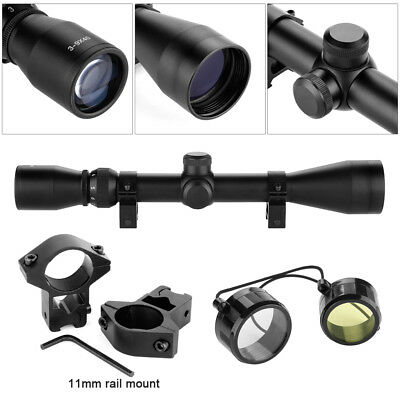 Excelvan Fully multi-coated lenses 3-9x40 Hunting Scope Sight With 11MM Mount
