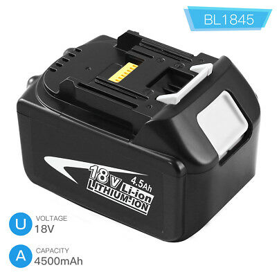 BL1845 Replace for Makita 18V Lithium Battery 4.5AH BL1850 BL1830 BL1860 BL1840