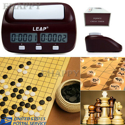 Hot Chess Clock Wei Chi Count Up Down Alarm Multifuctional Digital Game Timer