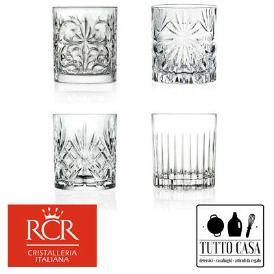 rcr 4 bicchieri mixology cocktail assortiti 33,7 cl
