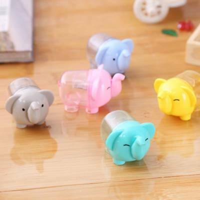 2pcs Kawaii Elephant Hand Pencil Sharpener Child Stationery School Supplies