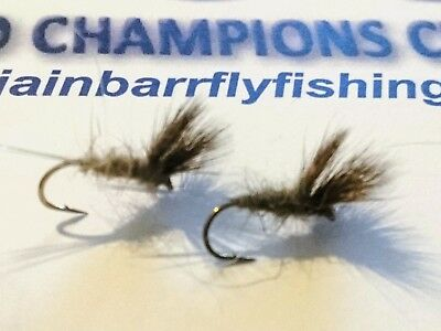 Trout Flies by Iain Barr Fly Fishing 6 Mixed Rutland Sparkler Boobys