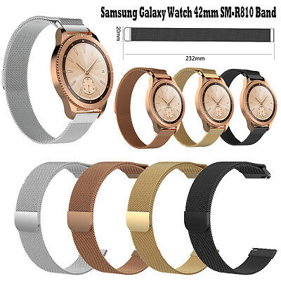 Milanese Loop Wristband Strap for Samsung Galaxy SM-R810 & Gear S2 Classic Watch